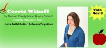 Corrie Wikoff-School Board District 5