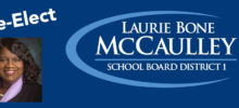 Re-Elect Laurie Bone McCaulley